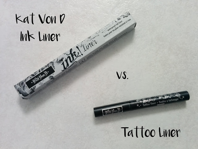 Versus kat von d liquid liner ink and tattoo i 39 m not a for Eyeliner tattoo mn