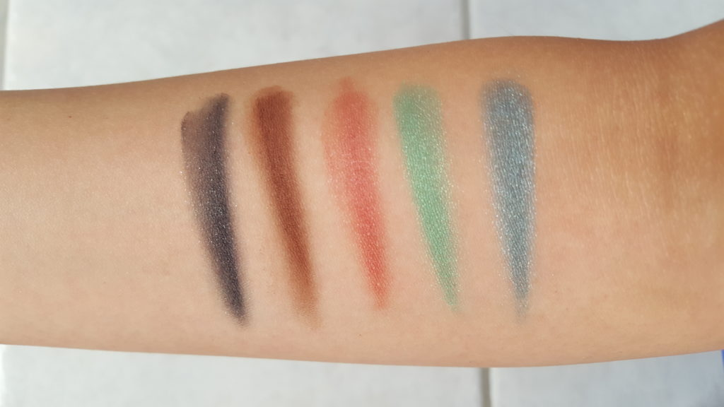 nyx beauty school dropout graduate swatches