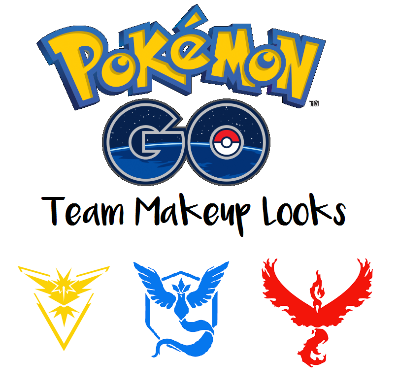 pokemon go makeup look