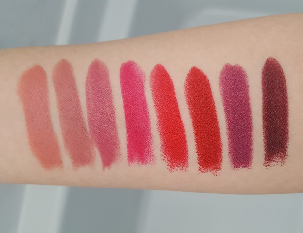 essence matt matt matt lipstick swatches