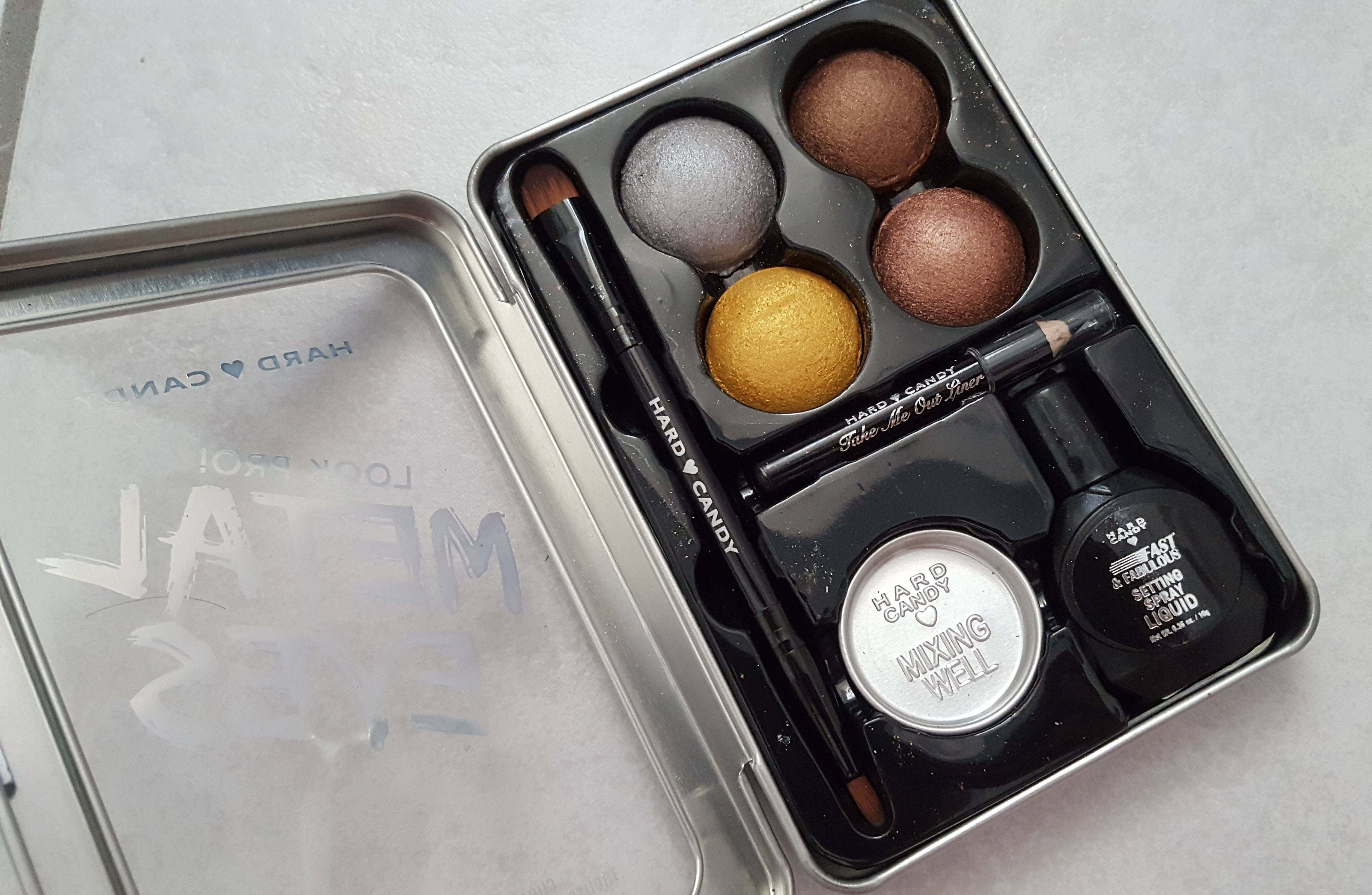 Brand Overview Hard Candy Ss17 Collection Hits And Misses Im Not Eyeshadow Metal Eyes Chrome Kit