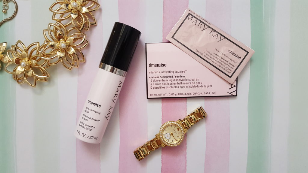 mary kay timewise vitamin c activating squares timewise tone correcting serum