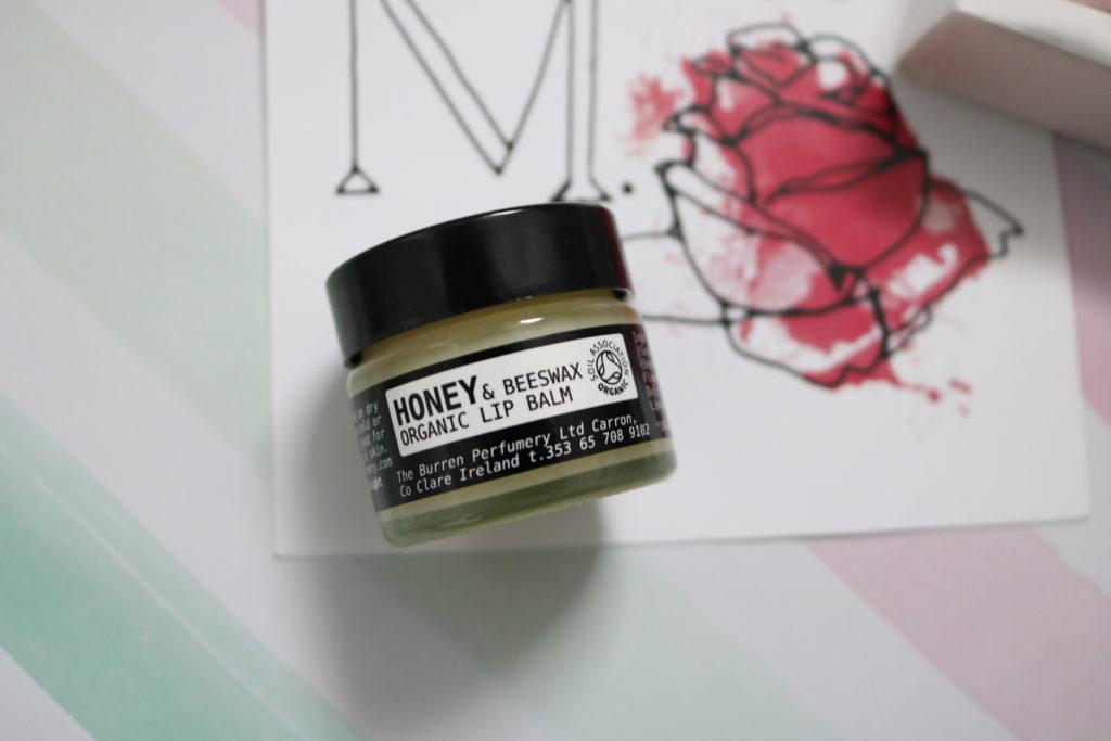 the burren perfumery sweet orange and honey lip balm
