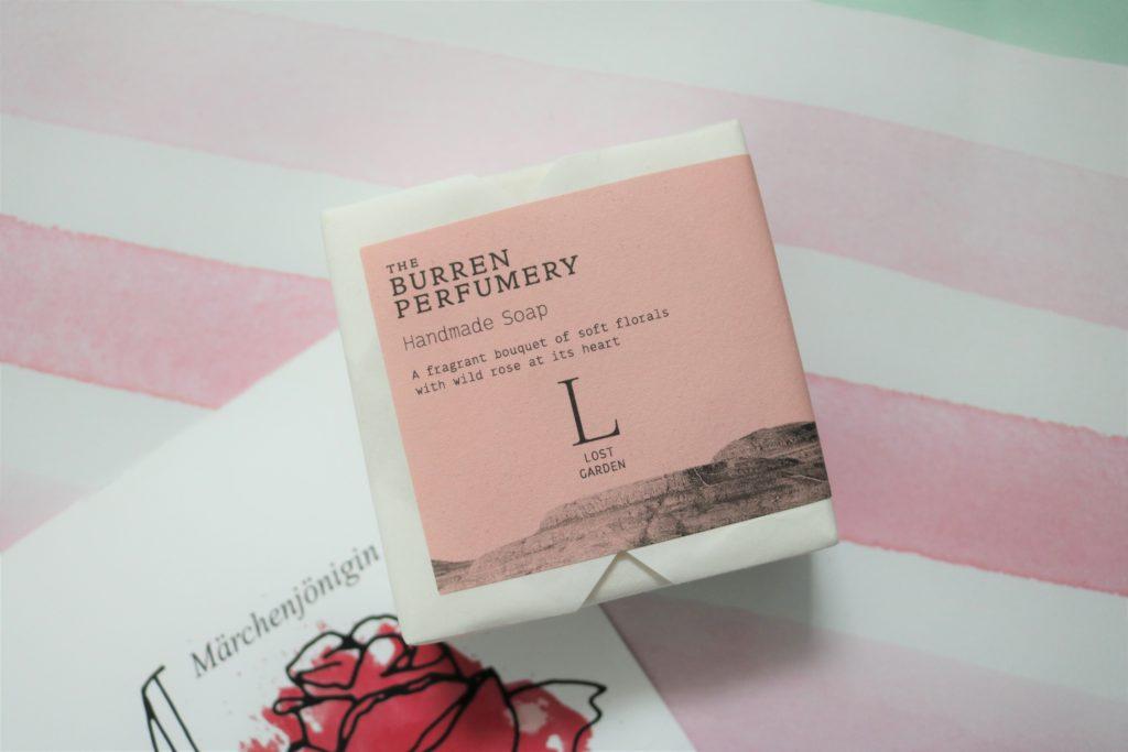 the burren perfumery lost garden soap