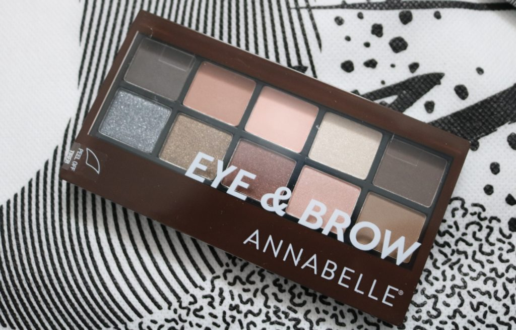 annabelle eye and brow palette