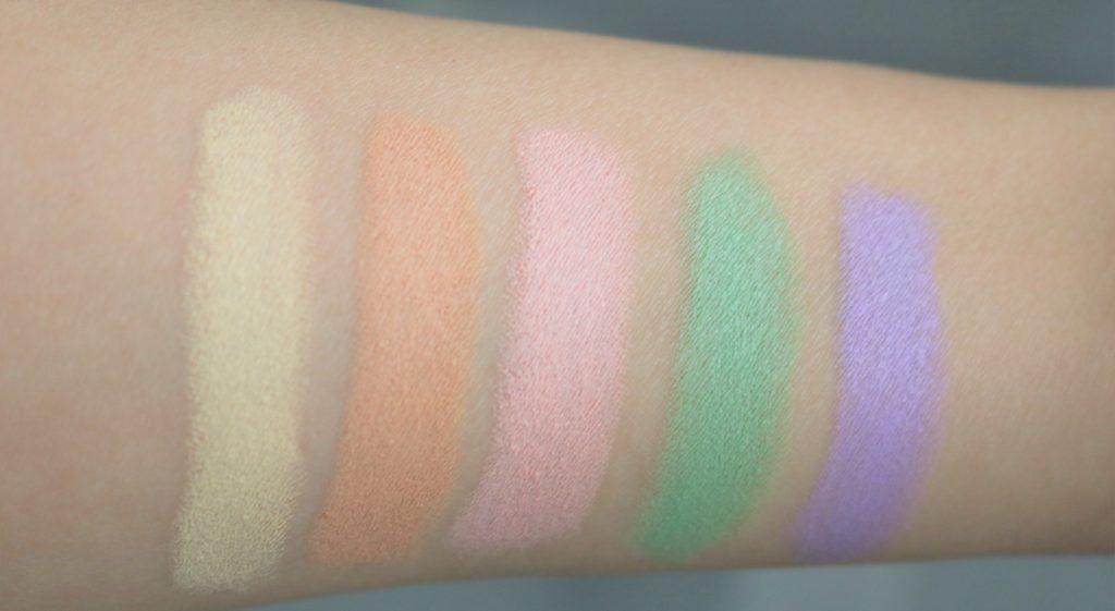 essence colour correcting sticks