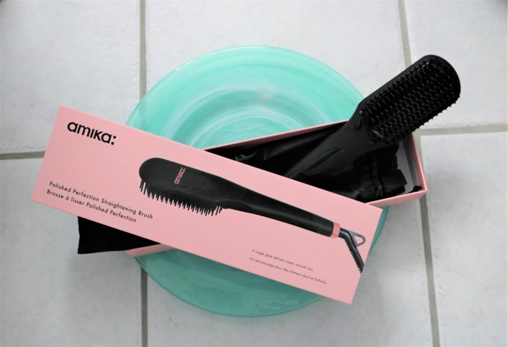 amika polished perfect straightening brush