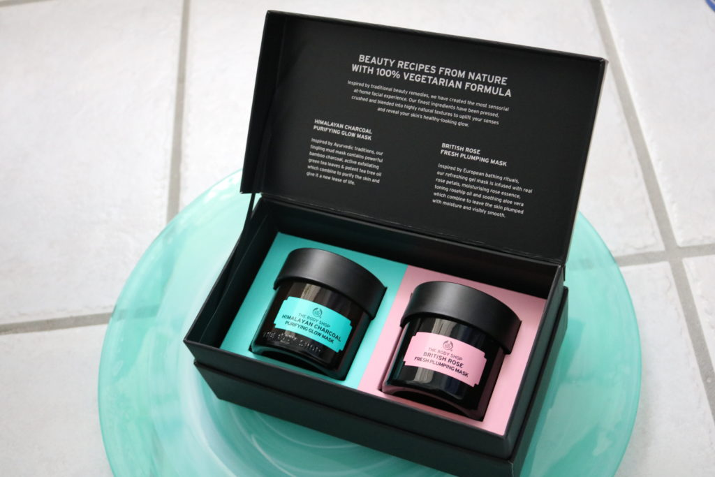 The body shop the finest face mask duo