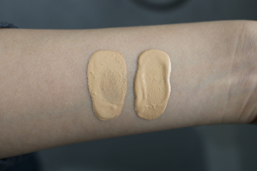 the ordinary serum and coverage foundation