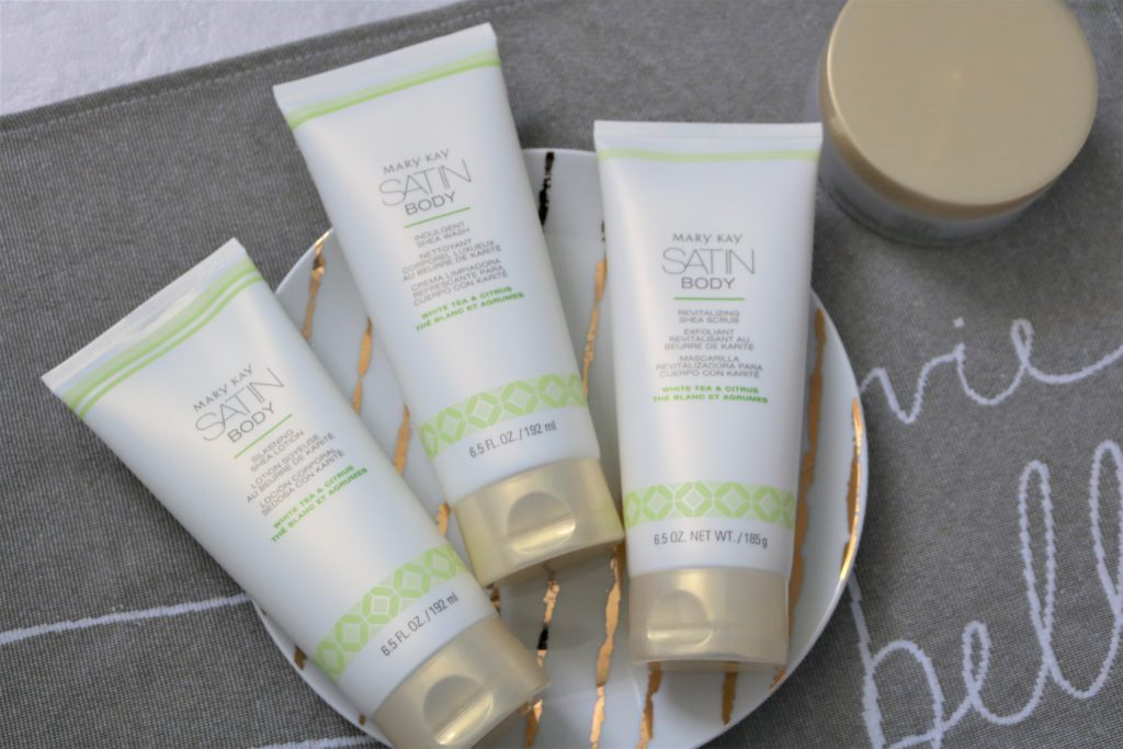 mary kay satin body collection