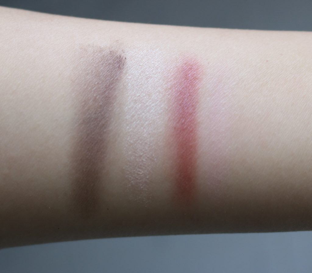 mary kay berry haute palette swatches