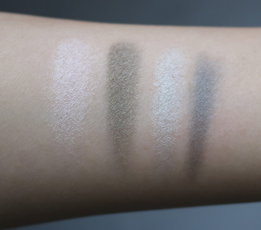 mary kay shades of jade palette swatches